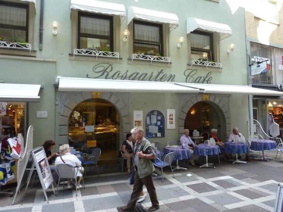 Bodensee: Rosgarten Cafe Konstanz
