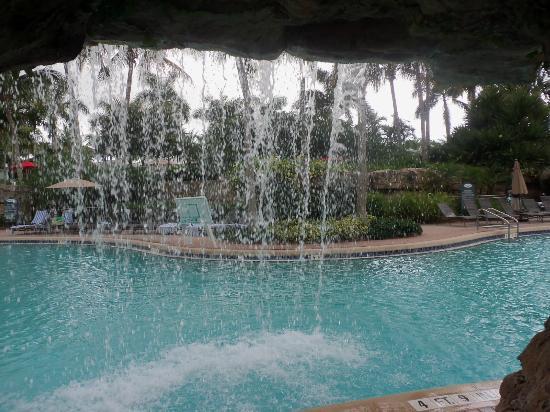 Hyatt Coconut Plantation: Pool with waterfall
