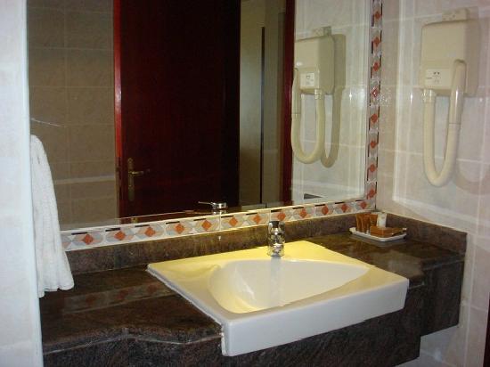 Landmark Suites Hotel: Bathroom