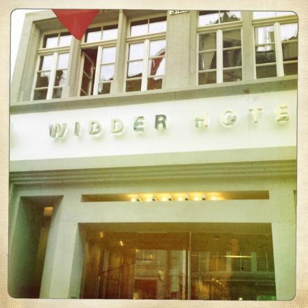Widder Hotel: entrance