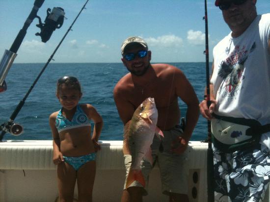 Captain Doug Kelley Florida Keys Fishing Charter: Meiling and Bob's mutton snapper