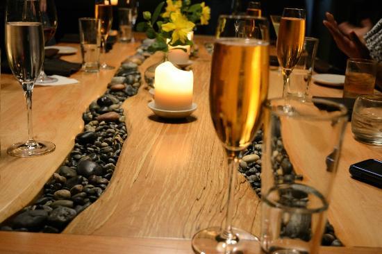 Lummi Island, WA: Private Dining Room