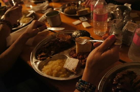 Bar J Chuckwagon Suppers: Plenty of food, just (sort of) like the cowboys used to eat!
