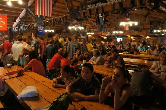 Bar J Chuckwagon Suppers: For as many people as this place seats, it sure feels cozy