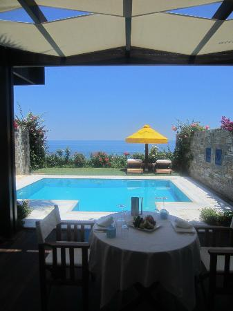 Porto Zante Villas & Spa: View from inside the villa