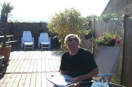Heatherbell Cottage: Communal patio