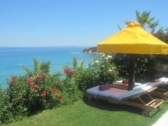 Porto Zante Villas & Spa: View over the ocean