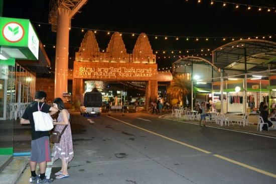 Siam Paradise Night Bazar: fabulous place to visit