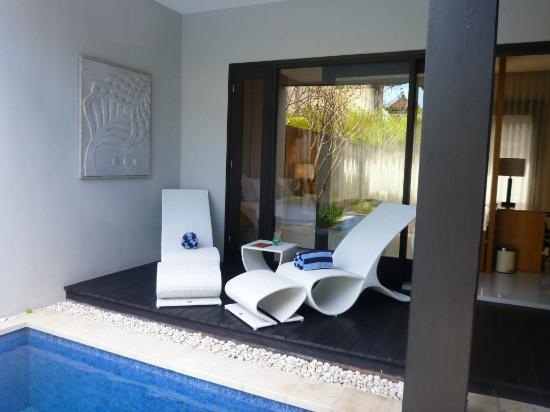 The Jineng Villas: terras