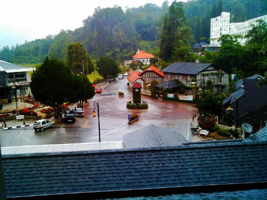 Puncak Inn: window view