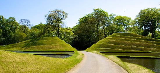 Jupiter Artland: The water feature on the way in