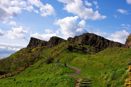 Parque Holyrood: Salisbury Crags