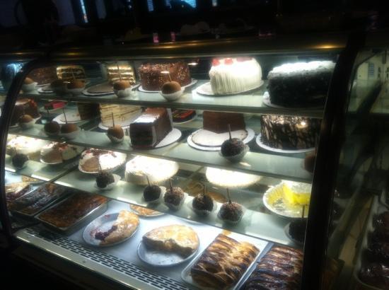 Clinton Station Diner: dessert case