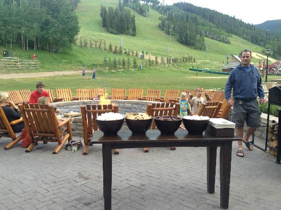 Park Hyatt Beaver Creek Resort and Spa : The Smores area