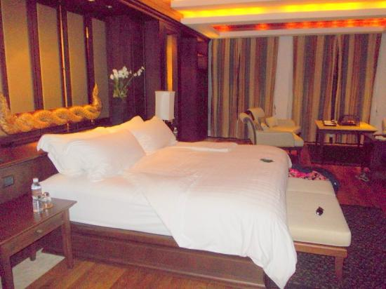 Trisara Phuket: Gorgeous comfy bed