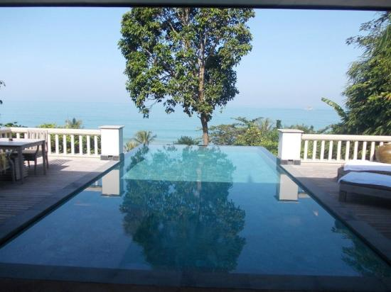 Trisara: Our infinity pool