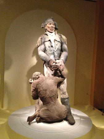 National Museum of African Art: Depiction of Slave Trade