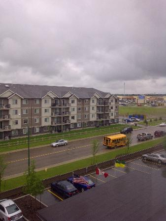 BEST WESTERN PLUS Blairmore: looking west from my room