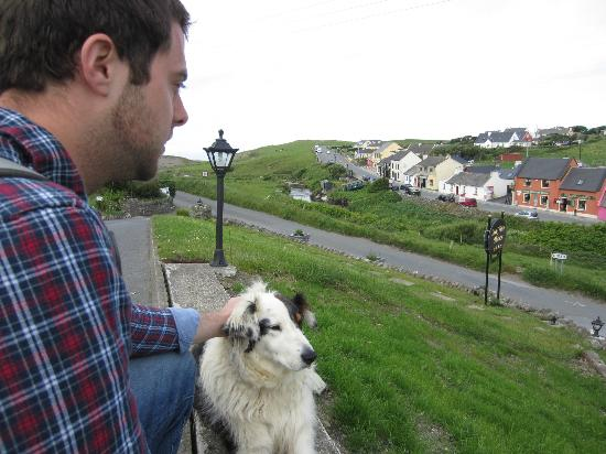 Sea View House Doolin: Lucy the dog!
