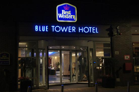 Front Of Hotel Photo De Best Western Blue Tower Hotel