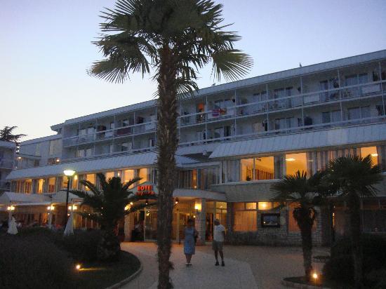 Aminess Laguna Hotel: Hotel di sera