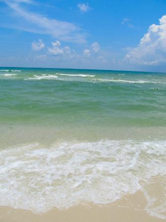 Gulf Islands National Seashore: Beautiful blue water