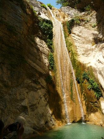 Villa Olga Hotel Apartments & Studios : Lefkada - waterfall near Nidri