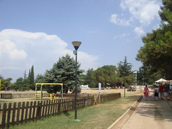Aminess Laguna Hotel: Parco