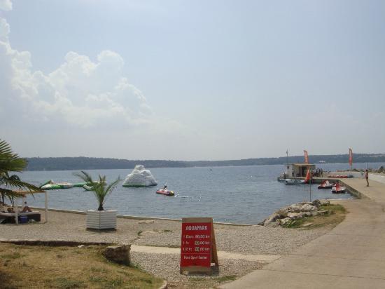 Aminess Laguna Hotel: Veduta spiaggia