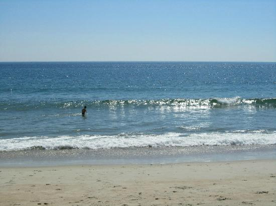 Salisbury Beach: Beautiful Atlantic ocean water!