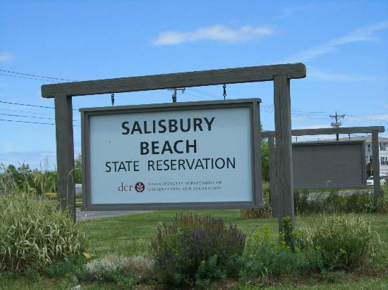 Salisbury Beach: Entrance