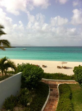 Cap Juluca: ocean front villa building 7 room 5