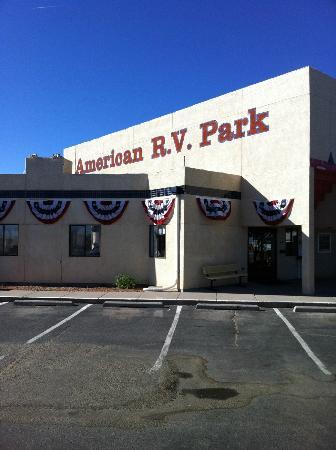 American RV Resort: Office