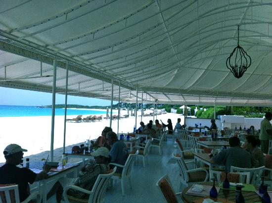 Cap Juluca: BLUE restaurant