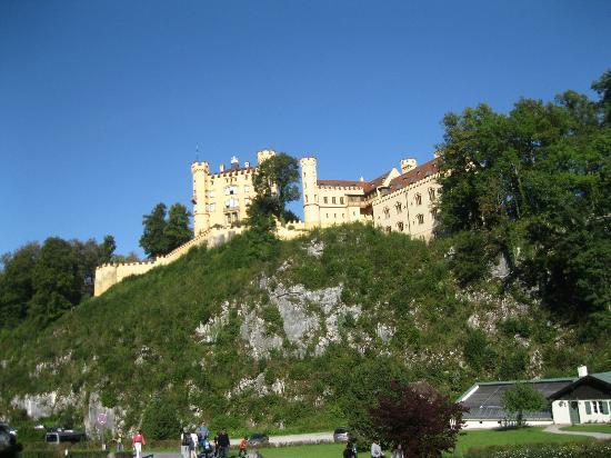 European Castles Tours: Outro Castelo do Rei Ludwig que só visitamos por fora.