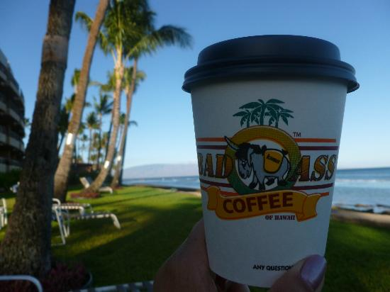 Paki Maui Resort: great coffee = good morning