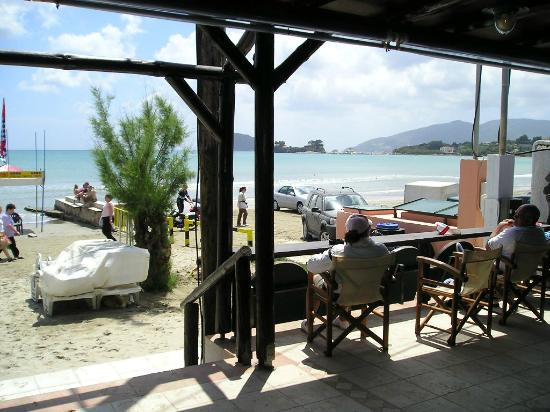 the Fishery Inn Pub: View from the Terrace