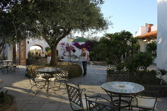 Hotel La Scogliera: giardino