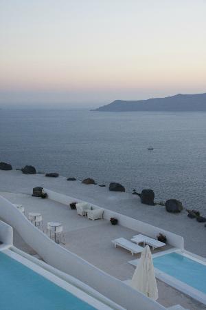 Rocabella Santorini Hotel & Spa: Caldera view