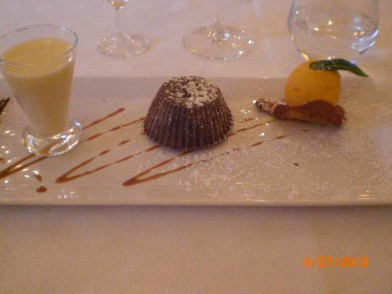 L'Auberge de l'Abbaye: Auberge de l'Abbaye restaurant - dessert