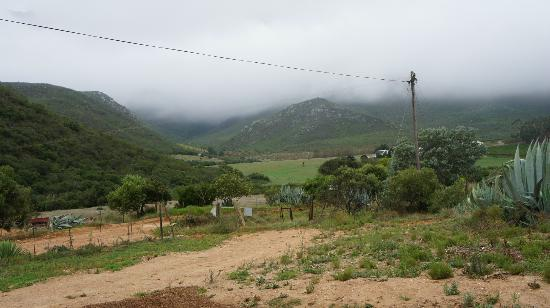 Ashton, Afrique du Sud : The view from the overnight chalets.
