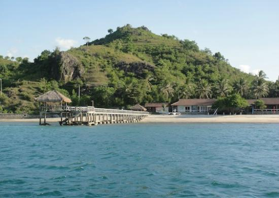 Cocotinos Sekotong, Boutique Beach Resort & Spa: Pier (view from boat)