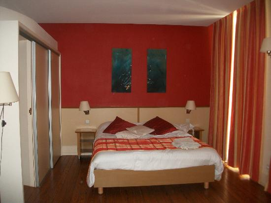 Residence Les Sources : Le lit super confortable
