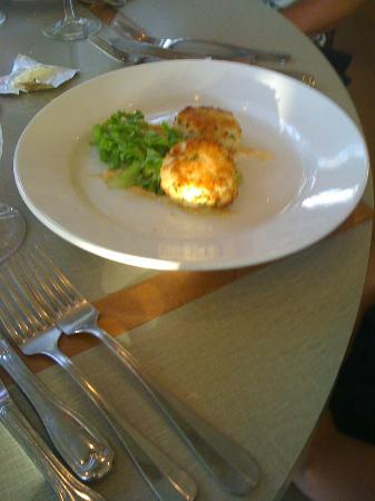 Plantation on Crystal River: crab cakes