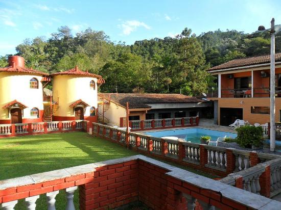 Itatiaia, RJ: Chalé, piscina