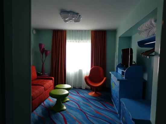 Disney's Art of Animation Resort: Living Quarters