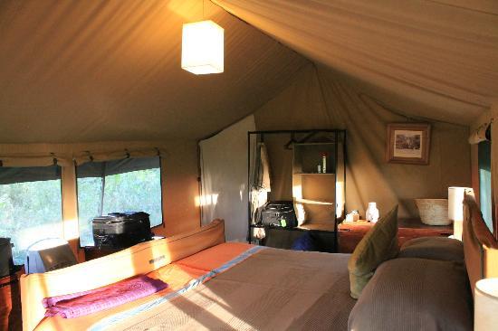 Lemala Ngorongoro Tented Camp: sleeping area, tent # 5