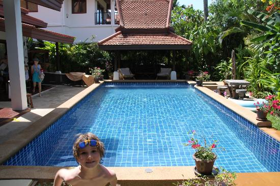 Shiva Samui: Our villa pool
