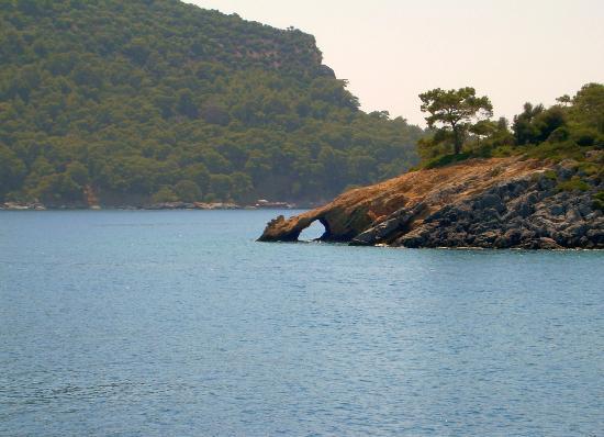 Plage d'Oludeniz (Lagon bleu) : On the boat trip