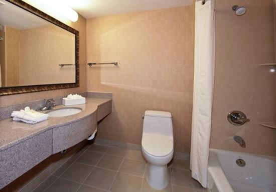 Comfort Inn Staten Island: Bathroom